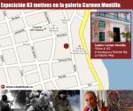 Infografia: Exposición 83 motivos en la Galería Garmen Montilla