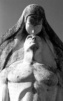 Detalles de Liborio Nova, Cementario de Colón