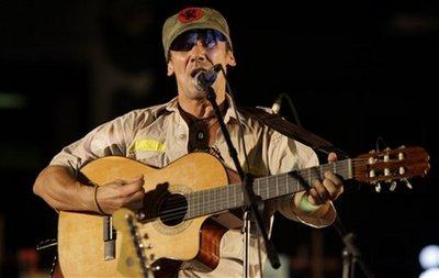 Manu Chao en La Habana (Foto: AP)