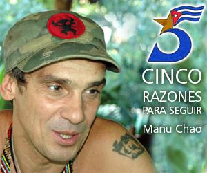 Manu Chao protestará contra ley antiinmigrante de EEUU con concierto gratuito