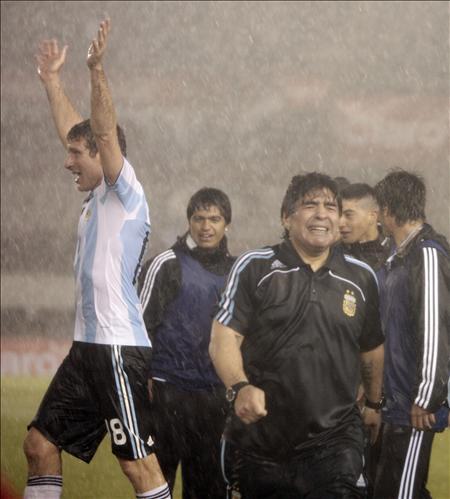 Palermo y Diego Armando Maradona
