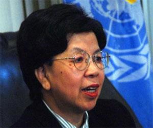 Recibe canciller cubano a la directora de la Organización Mundial de la Salud