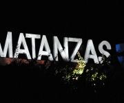 Cartel que se encuentra en la punta del puente de Bacunayagua indicando la entrada a la provincia de Matanzas, el 18 de octubre de 2009 AIN/FOTO Marisol RUIZ SOTO