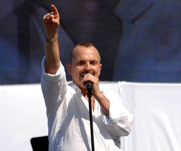 Miguel Bose, Concierto Paz sin Fronteras