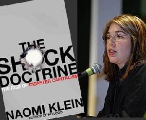 Naomi Klein en la presentación de The Shock Doctrine.