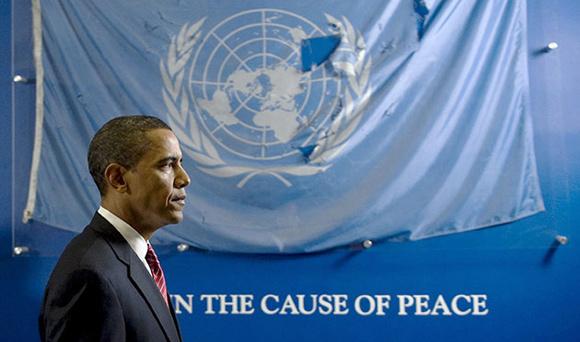 "Obama ""Cause of Peace"""