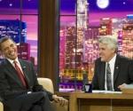 El presidente Barack Obama, durante una entrevista con Jay Leno en su programa de la NBC. (Foto: Reuters)