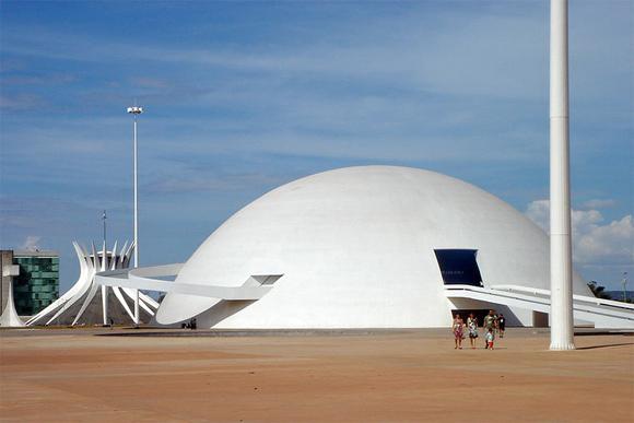 Museo Nacional, Complejo Cultural, Brasilia.