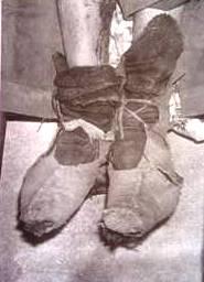 pies del Che Guevara en Bolivia