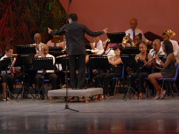 Interpretación de la Banda Nacional de Conciertos