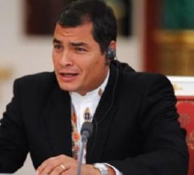 Cuestiona Correa autoridad moral de EEUU para juzgar a otros países y recuerda el caso de los Cinco