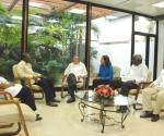 Raul Castro se reune con el Primer Ministro de Lesotho