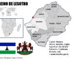 Infografía: Reino de Lesotho