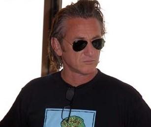 Sean Penn está en Caracas