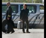 Sean Penn en el momento en que se disponía a tomar el avión a Cuba (Foto: TMZ)