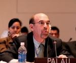 Stuart Beck, embajador israelí de Palau ante la ONU.