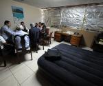 Conversaciones en Honduras. (Foto: AFP)