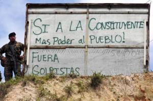 Honduras Sí a la Constituyente Foto: AFP