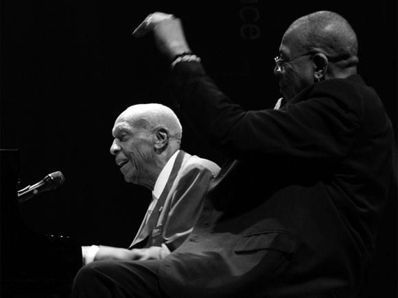 Bebo y Chucho Valdés en el Jazz Voyeur Festibal / 2008