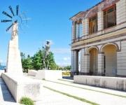 Monumento Escultórico El Quijote, en el Paseo de la Avenida Libertad, en el municipio Puerto Padre, en la oriental provincia Las Tunas, Cuba, el 23 de noviembre de 2009. Obra de los escultores Elevis Báez y Pedro Escobar Mora. (Foto: Yasiel Peña, AIN)