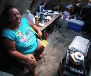 Una mujer desempleada en Estados Unidos