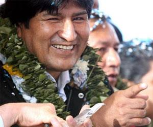 Cumpliremos un programa de gobierno que ofrece esperanzas a Bolivia