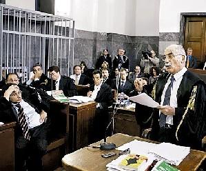 Fallo. El fiscal Armando Spataro da su alegato en la corte de Milán. Foto: AP