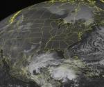 La tormenta avanzaba hacia el norte a 15 kmsh. se espera golpee Yucatán en la noche del sábado. Foto: AP
