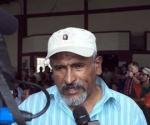 Juan Barahona, líder de la Resistencia contra el golpe de Estado en Honduras