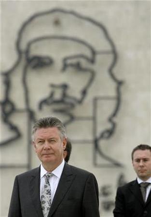 Comisario Europeo en La Habana