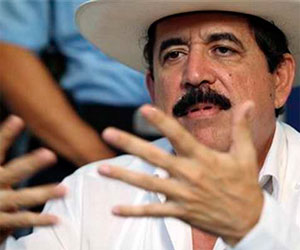 José Manuel Zelaya Rosales, Presidente Consititucional de Honduras