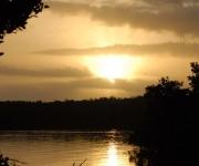 Amanecer en Playa Carbo en el Parque Nacional Caguanes