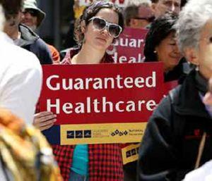 Sector de salud en EEUU organiza manifestación contra recortes millonarios