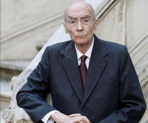 José Saramago. Foto: Archivo.