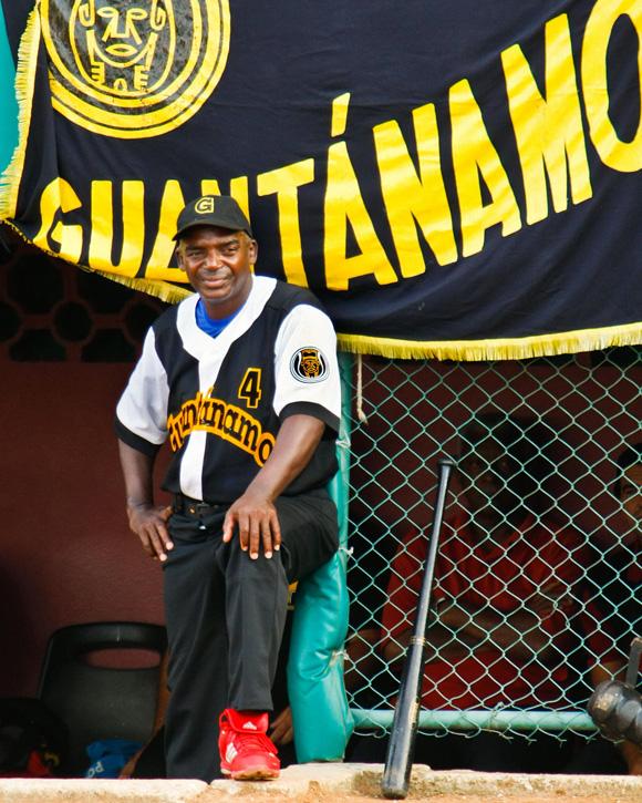 Agustín Lescaille, el mentor de los guantanameros, está muy tranquilo en este inicio de campaña. Foto: Alex Castro