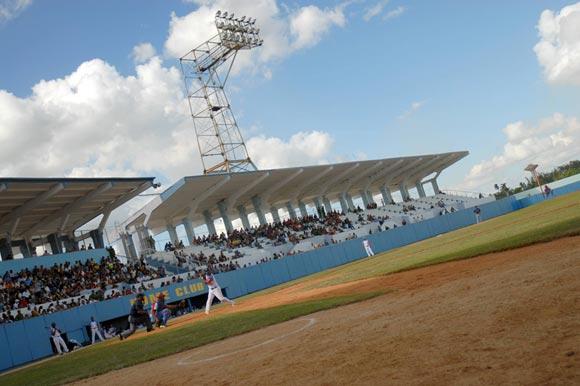 El estadio José Ramon Cepero de Ciego de Avila donde se desarrolló el juego Ciego de Avila – Granma de la 49 Serie Nacional de Béisbol de Cuba.