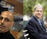 A la izquierda, Andy Shallal; a la derecha, Bradley Blakeman. (Lucian Perkins/The Washington Post; Gerald Herbert/AP).