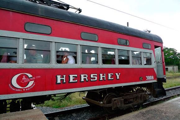 Tren de Hershey, Cuba