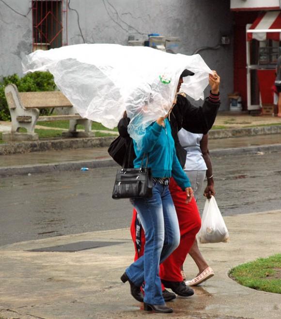 La vida en La Habana pasada por agua
