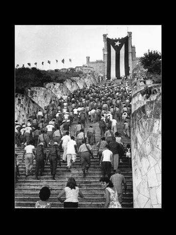 Ascenso campesino al Castillo de El Príncipe.