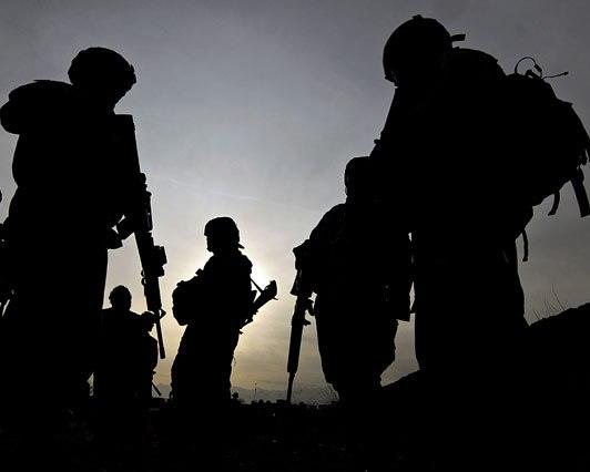 Tropas norteamericanas en Afganistán (Foto: AFP/SHAH Marai)