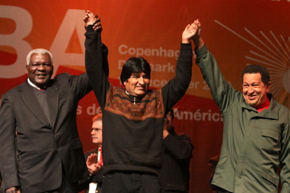 Encuentro con movimientos sociales en Copenhague
