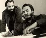 Antonio Nuñez Jiménez y Fidel.