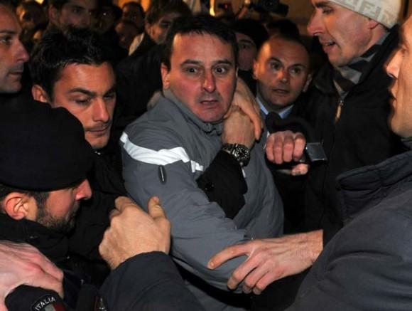 El agresor de Berlusconi.