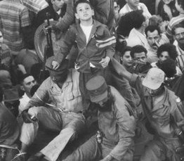 Fidel triunfo de la revolucion