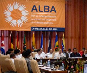 Cumbre de la Alianza Bolivariana para los Pueblos de Nuestra América (ALBA) en el Palacio de Convenciones, en La Habana, Cuba
