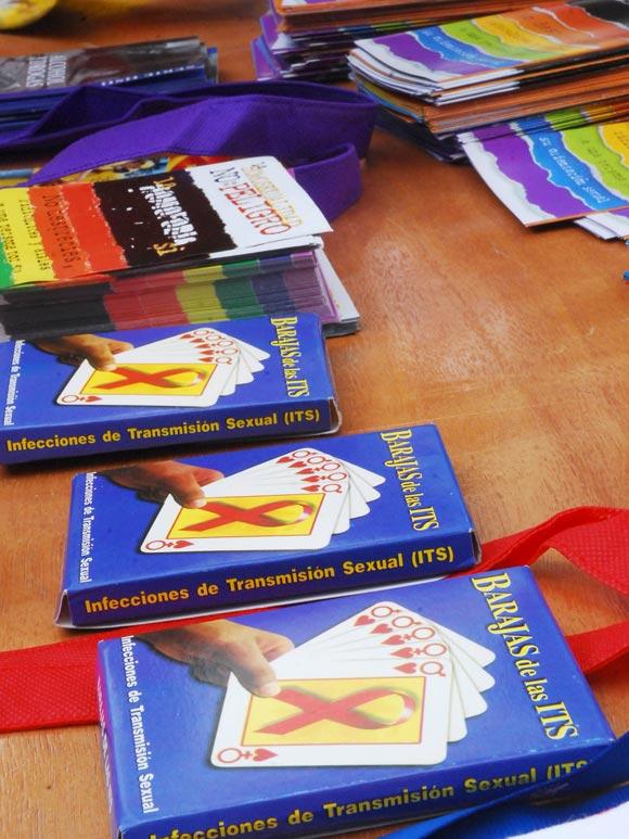 Barajas de las Infecciones de Transmisión Sexual (ITS) distribuidas por los promotores