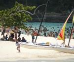 El balneario de Guardalavaca, uno de los principales polos turísticos de Cuba. Foto AIN
