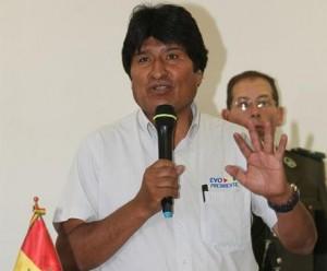 Evo Morales en Cuba