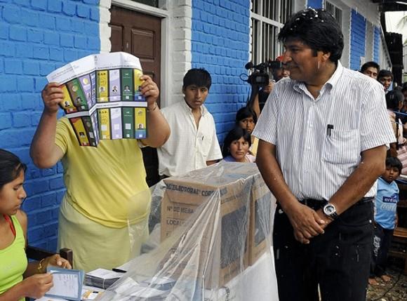 Elecciones en Bolivia. Foto: Evo Morales